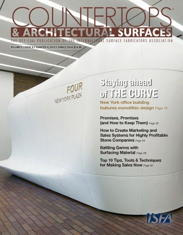 f4c73faf89b509 ISFA s Countertops   Architectural Surfaces Vol. 6