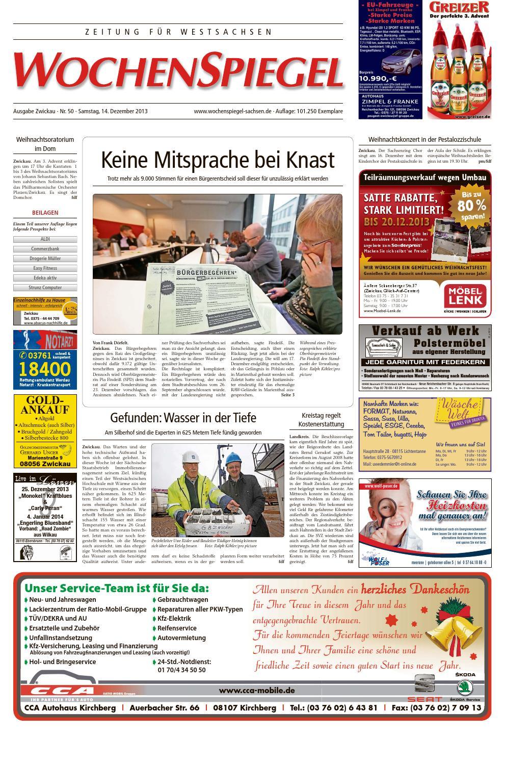 Wszsa 13 50 ebook by WochenSpiegel Sachsen - issuu