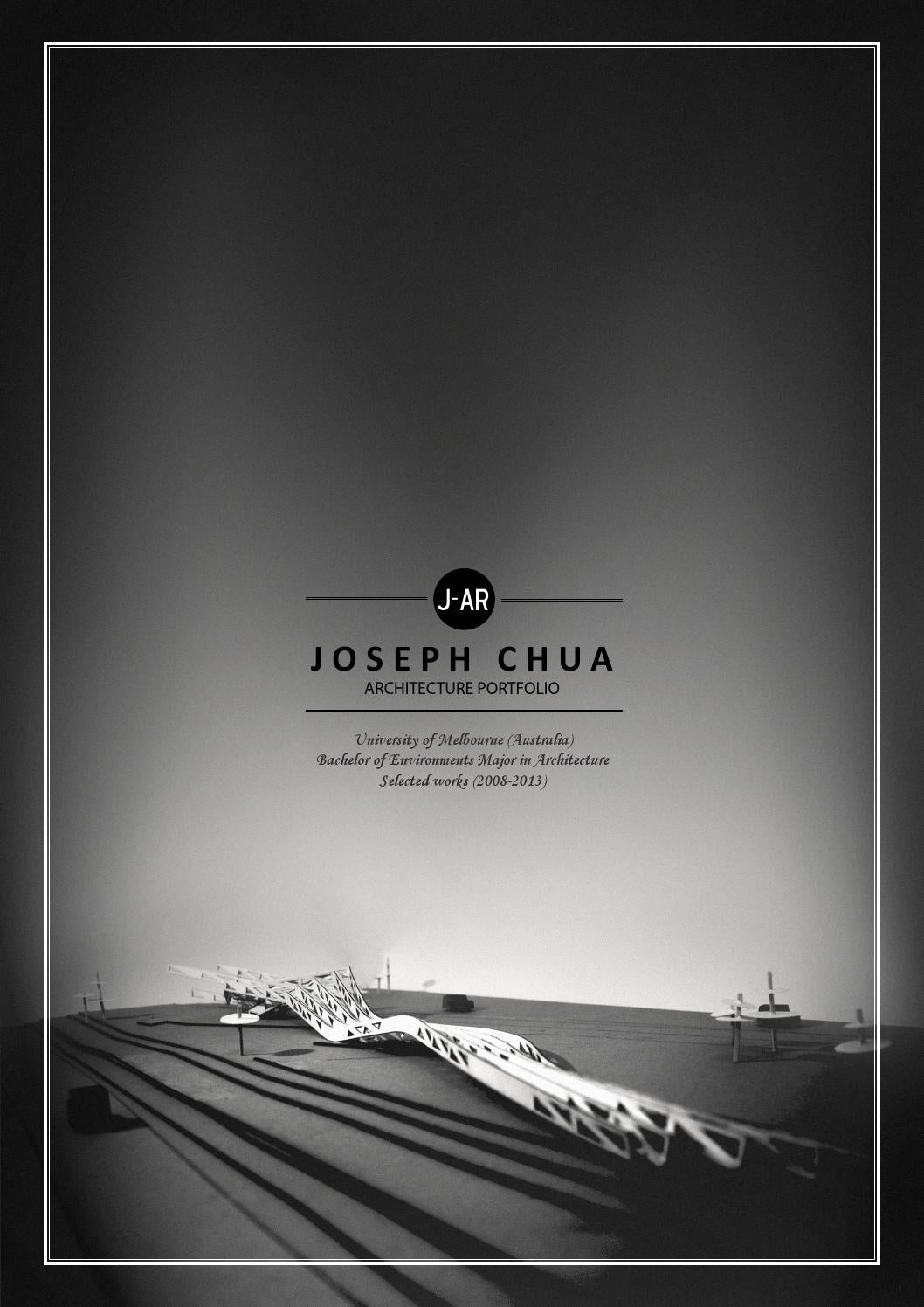 Architecture thesis book cover