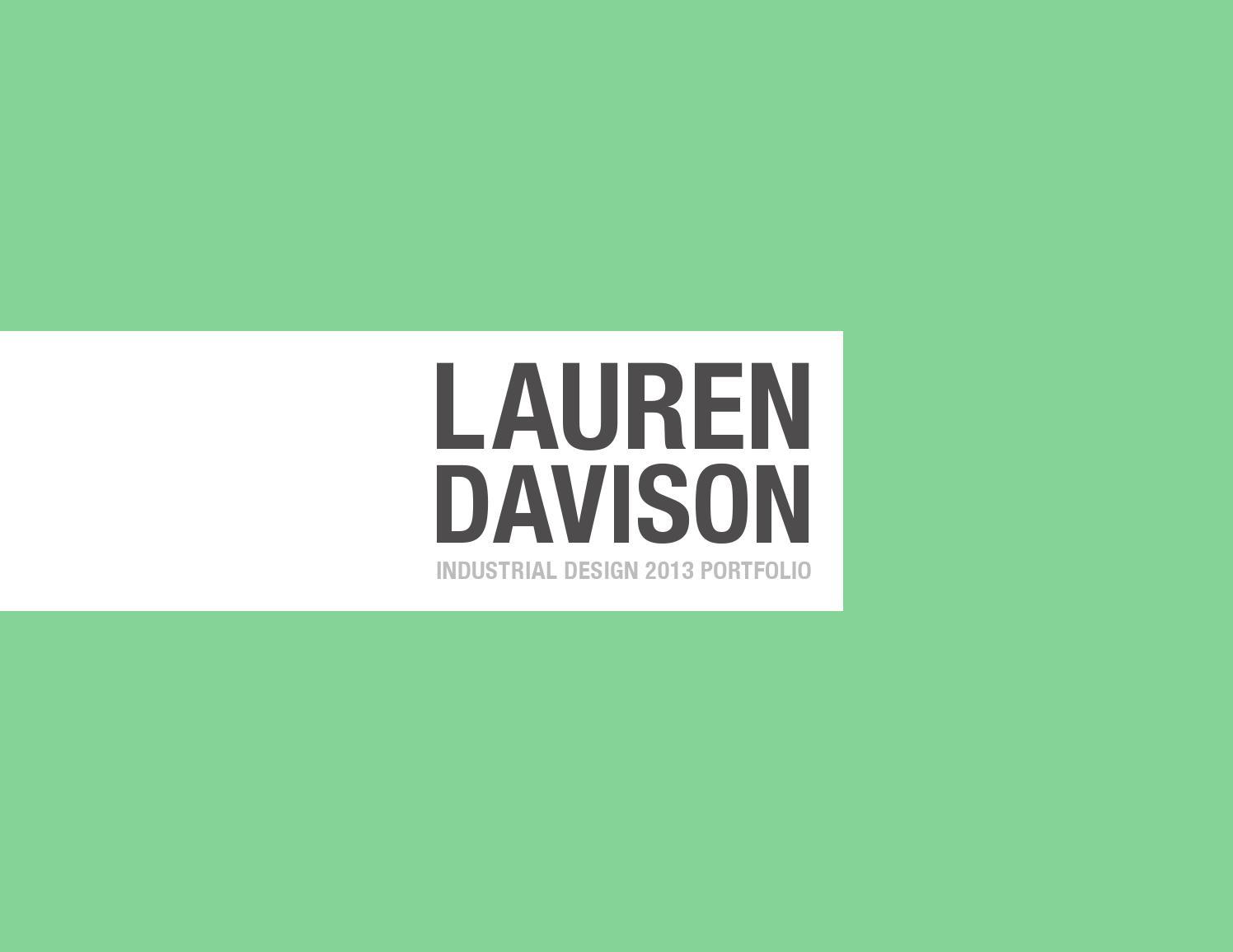 Industrial Design Portfolio Template