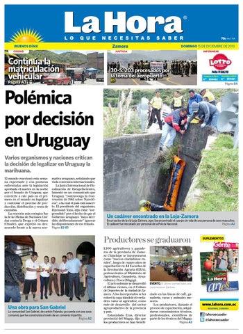 578706152d8dc Diario La Hora Zamora 15 de Diciembre 2013 by Diario La Hora Ecuador ...