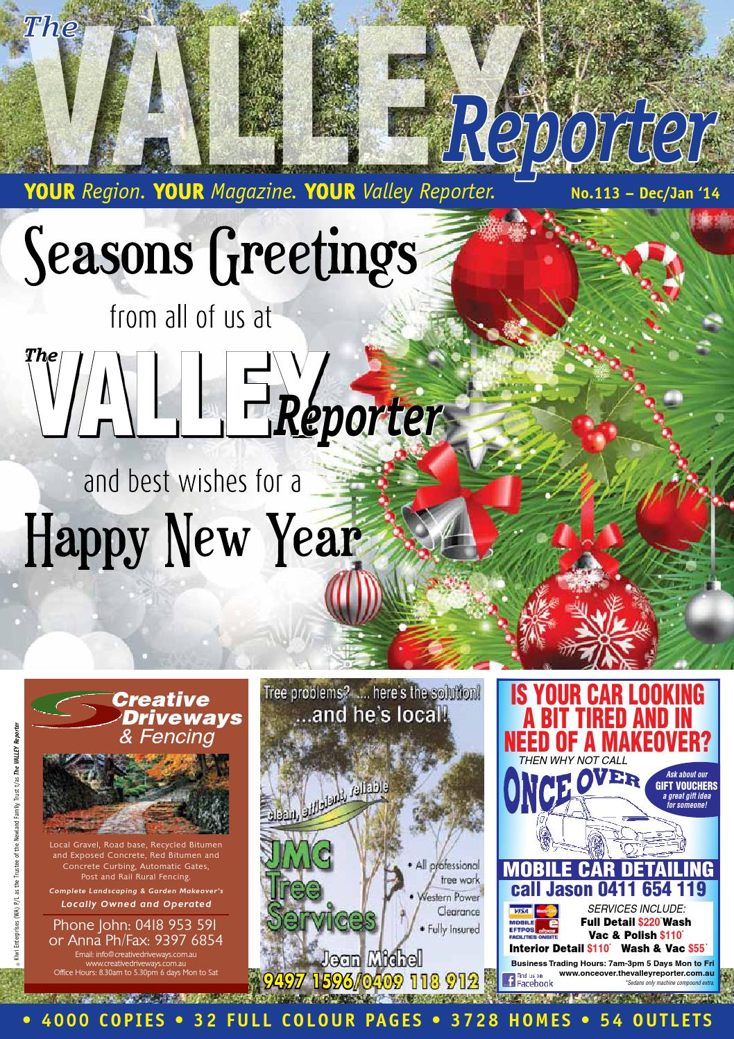 the valley reporter