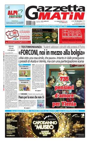 Gazzetta Matin del 16 dicembre 2013 by Luca Mercanti - issuu 229f7d51a5af