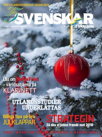 Svenskarna ordnade tidig julklapp