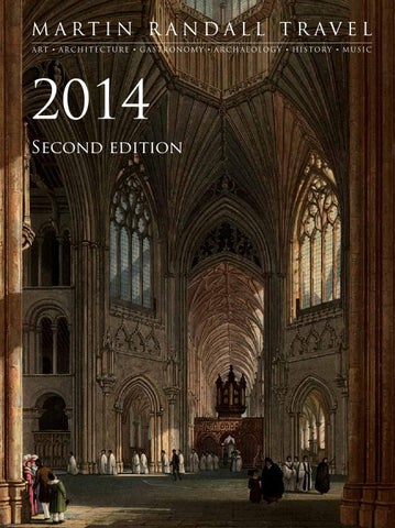 Martin Randall Travel S 2014 Brochure Second Edition By Martin
