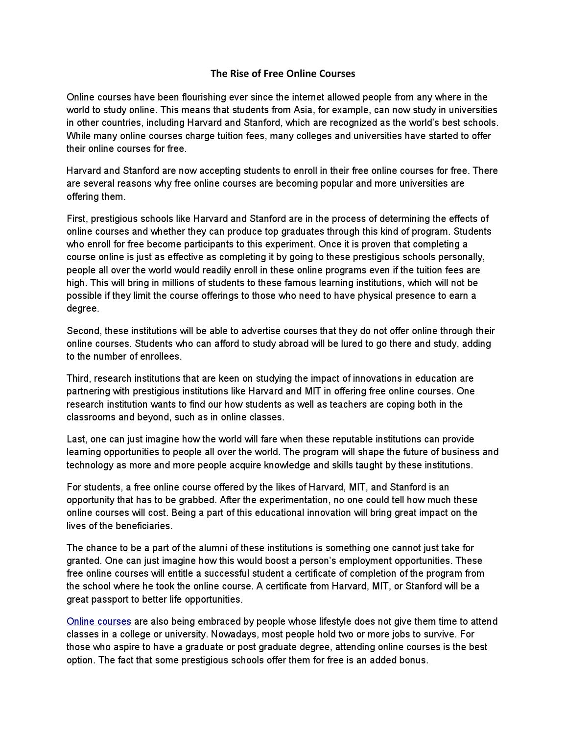 sap appeal letter the rise of free courses by acadsoc issuu 24726 | page 1