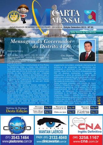 Carta Mensal Setembro 2013 by Conferência 4490 - issuu 88c4fe8eae