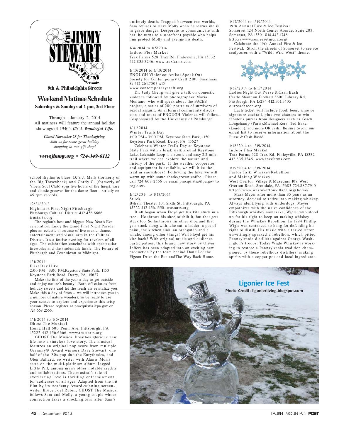 Laurel Mountain Post December 2013 by Laurel Mountain Post - issuu