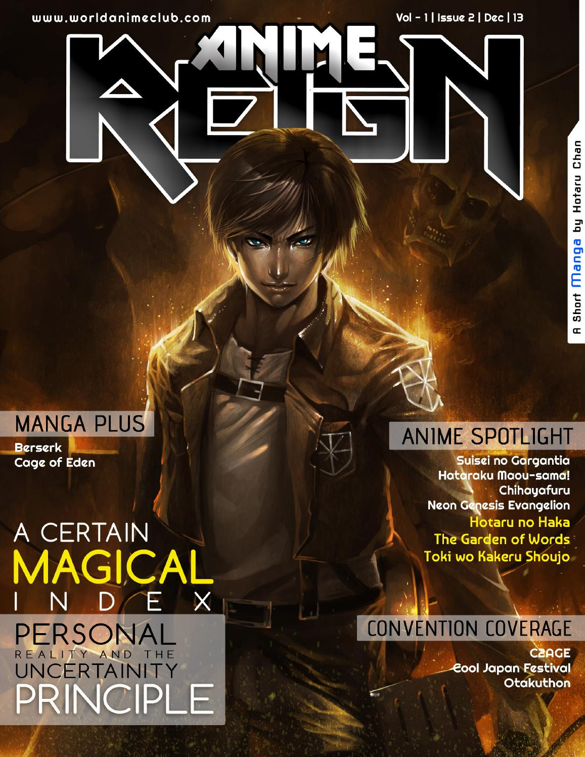 Anime Reign | Volume 1 | Issue 2 | 2013 by World Anime Club - issuu