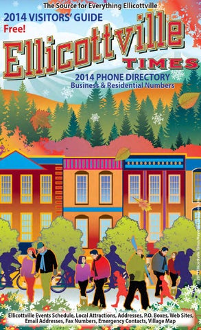 2014 Ellicottville Visitors Guide By Ellicottville Times Issuu