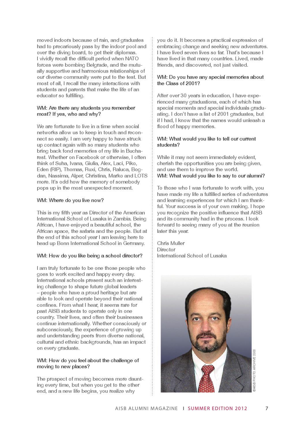 802a040b488 World Magazine - Summer 2012 by SchoolBrand - issuu