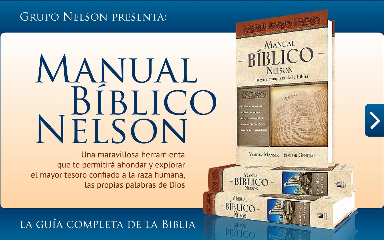 Manual Biblico Nelson Promo By Librer U00eda Bautista