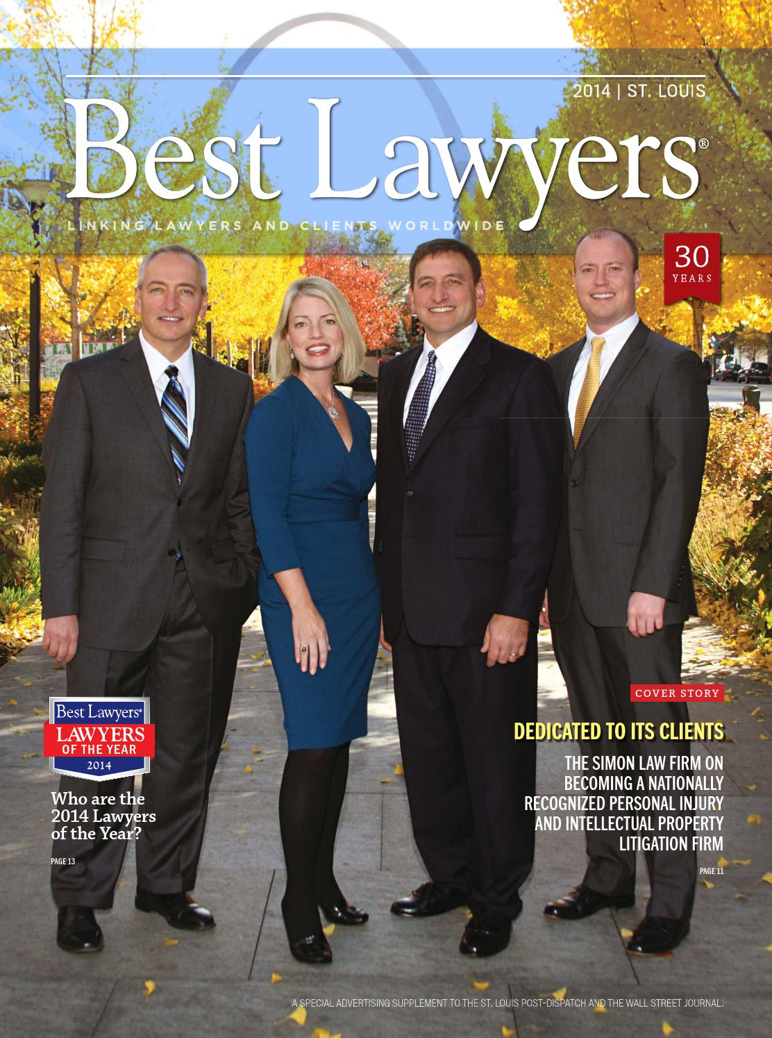 St Louis Best Lawyers 2014 By Best Lawyers Issuu border=