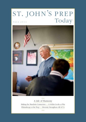 St Johns Prep Today Fall 2013 By Elizabeth Forbes Issuu