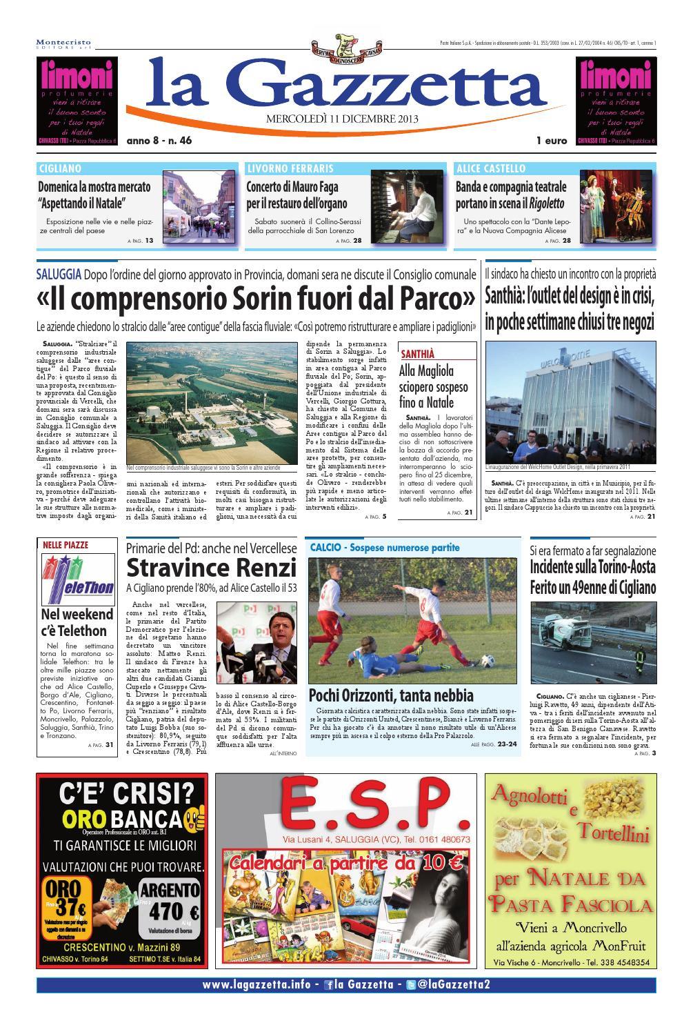 1b9db1408d la Gazzetta 11 dicembre 2013 by La Gazzetta - issuu