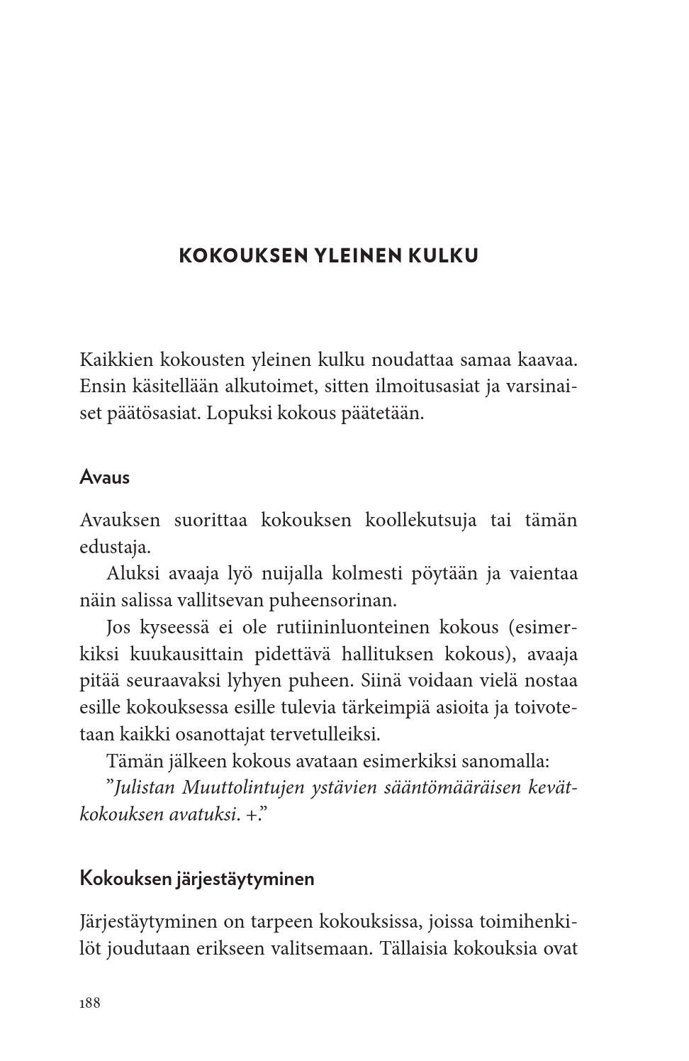 Yhdistyksen ABC - opas suomalaiseen yhdistystoimintaan - Kari Loimu, Järjestöhautomo