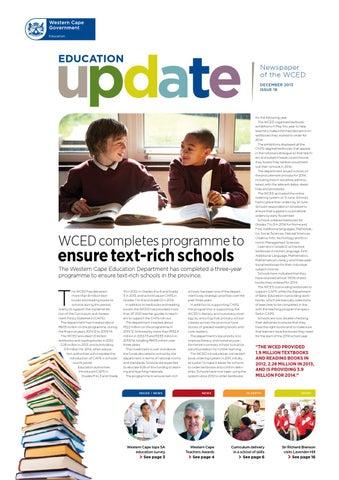 Education update 17 by western cape education department issuu education update 18 fandeluxe Gallery
