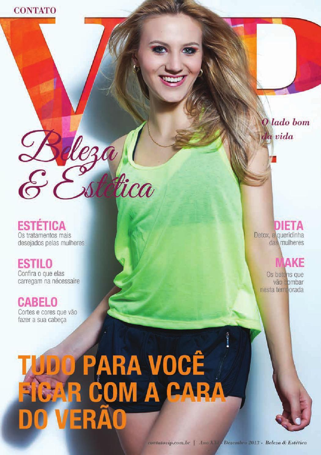 0a1925940f Ano XXI - Beleza e Estética - Dezembro 2013 by Contato VIP - issuu