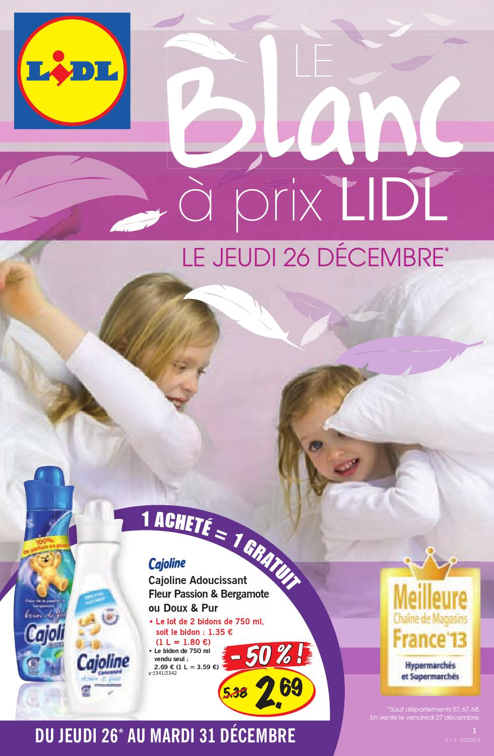 Catalogue Lidl 26 31122013 By Joe Monroe Issuu