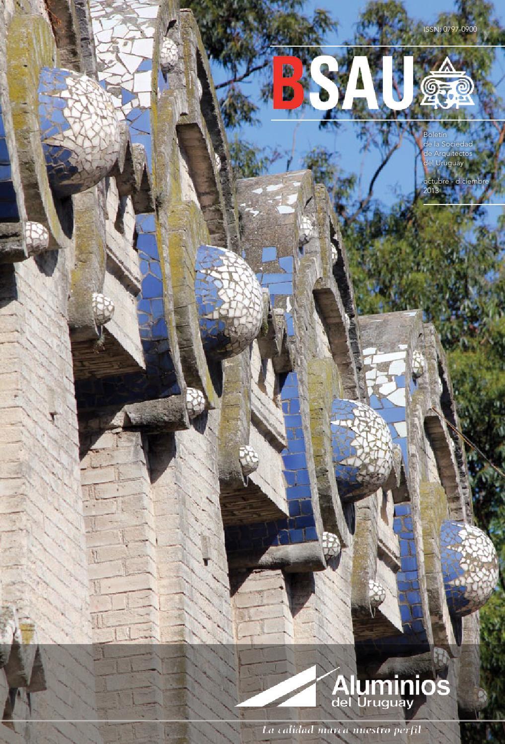 Bsau octubre diciembre 2013 by sociedad de arquitectos - Sociedad de arquitectos ...