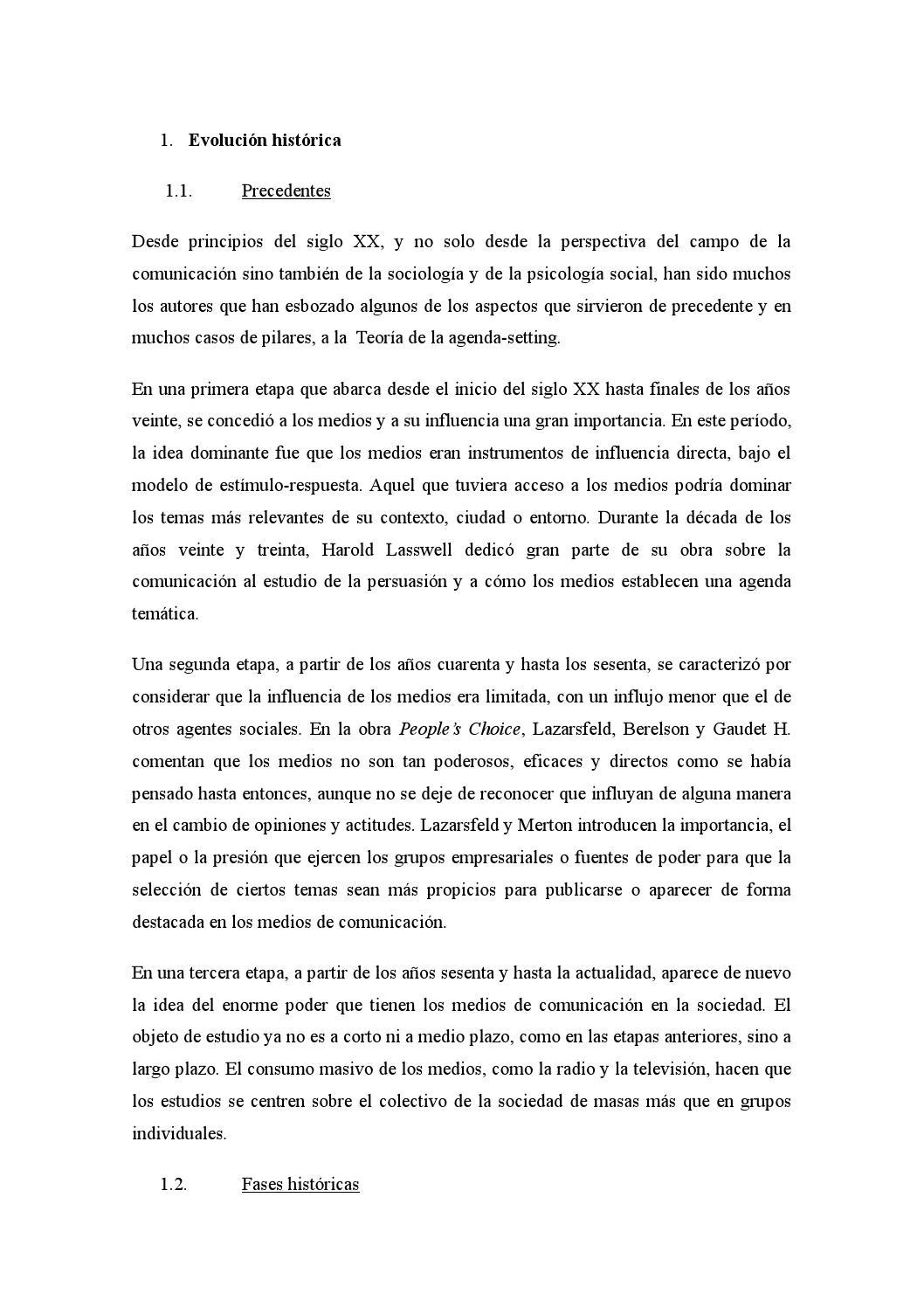 Teoría de la agenda setting by xbsmile9 - issuu