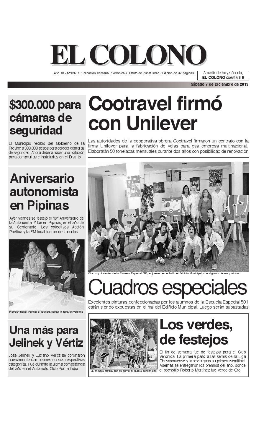 el_colono_7-12-13 by El Colono de Punta Indio - issuu