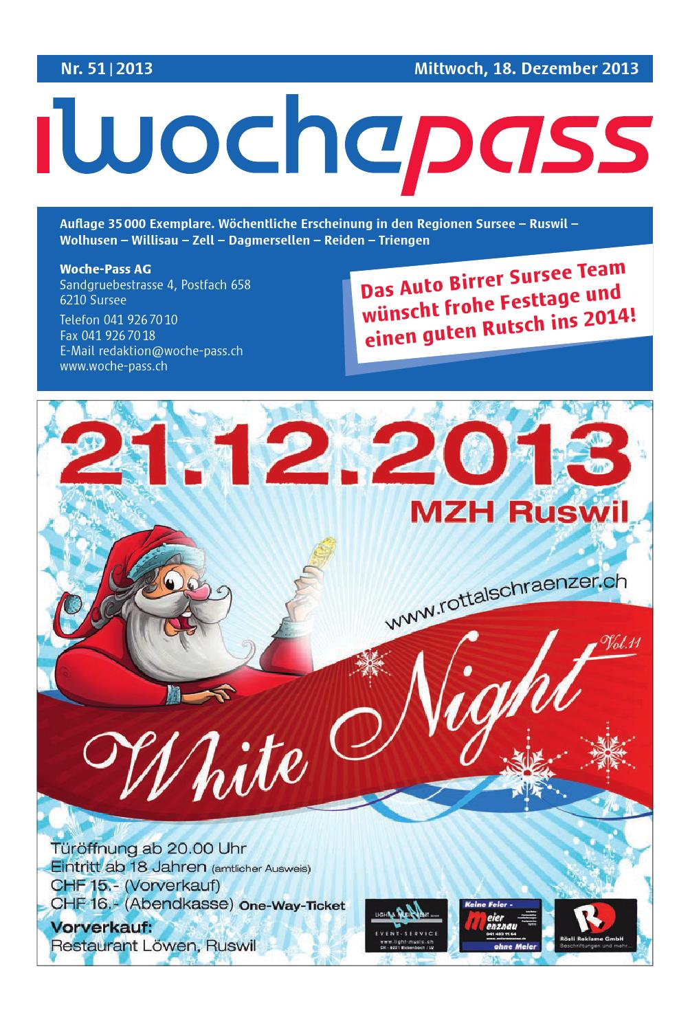 Woche-Pass | KW51 | 18. Dezember 2013 by Woche-Pass AG - issuu