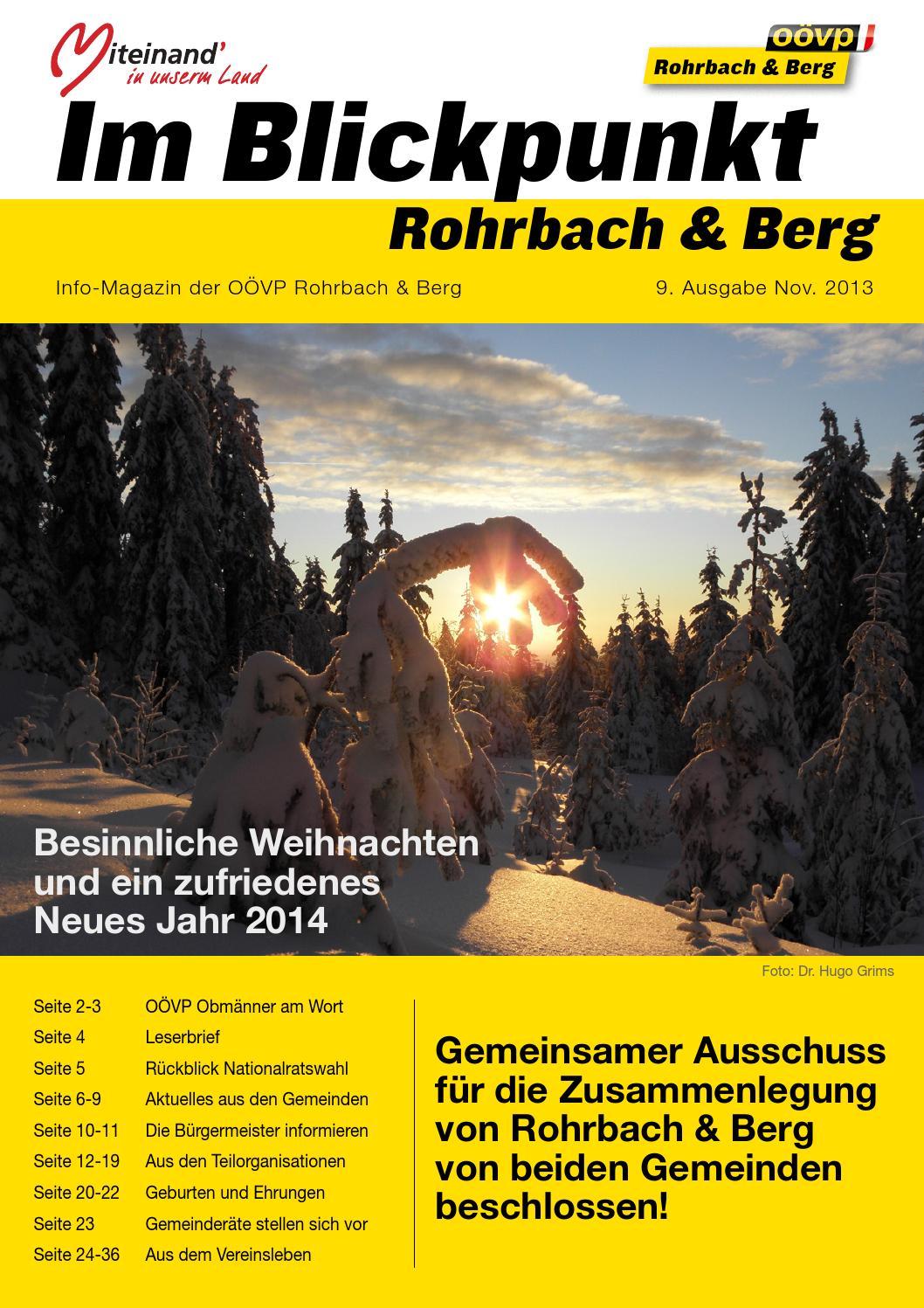 Singles Rohrbach In Obersterreich, Kontaktanzeigen aus