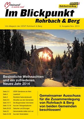 Mnner 55+ fr Speeddating in Altenfelden gesucht - Rohrbach