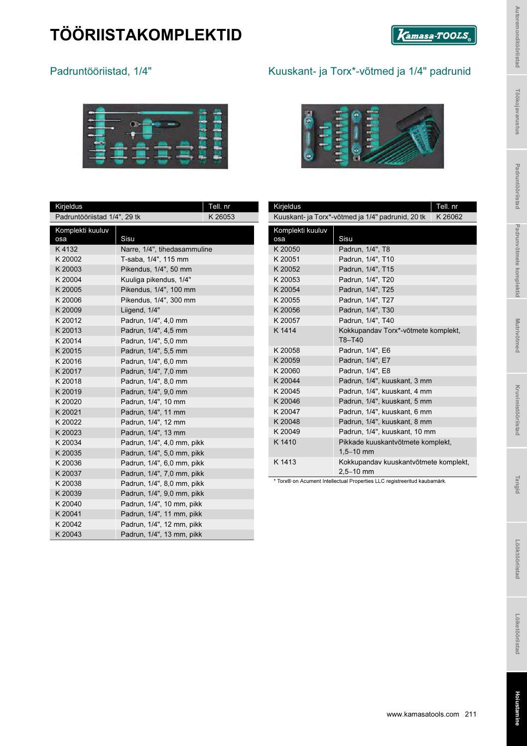 658c06c6620 Kamasa Tools tööriistad by Autoekspert - issuu
