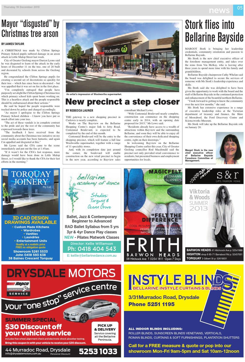 Bellarine Times Og December 19 2017 By Surf Coast News Australia Pty Ltd Issuu