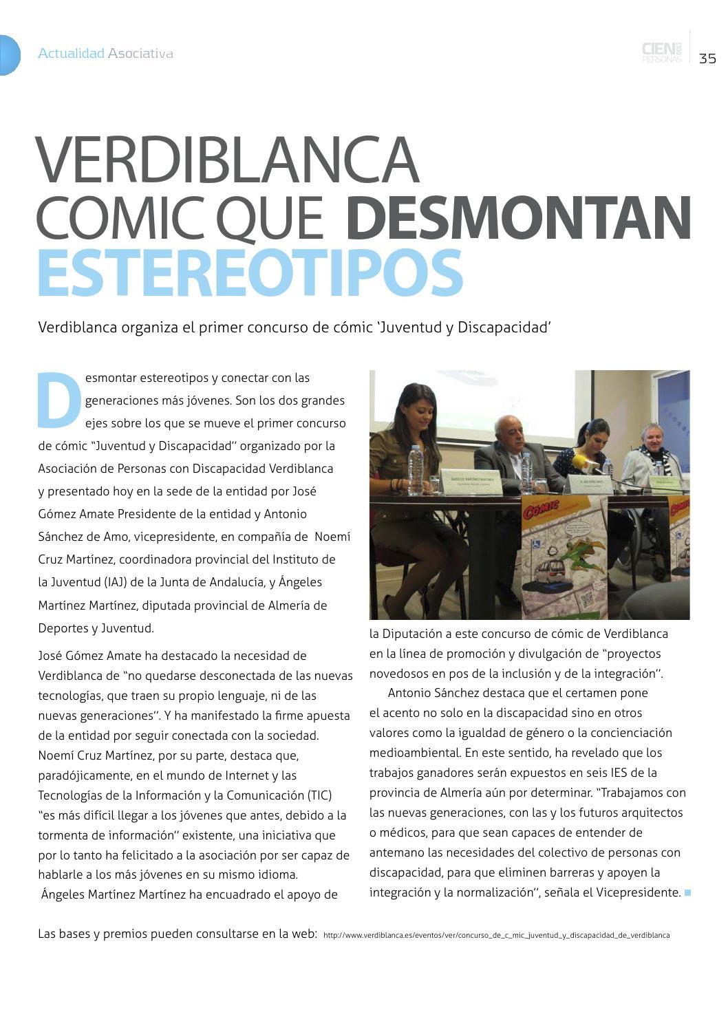 Dossier De Prensa Discapacidad Del 17 Y 18 De Diciembre De 2013 By  # Muebles Lao Abrucena