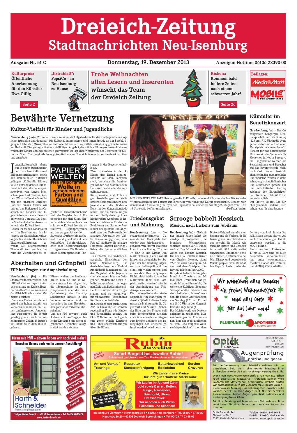 Dz online 051 13 c by Dreieich-Zeitung/Offenbach-Journal - issuu