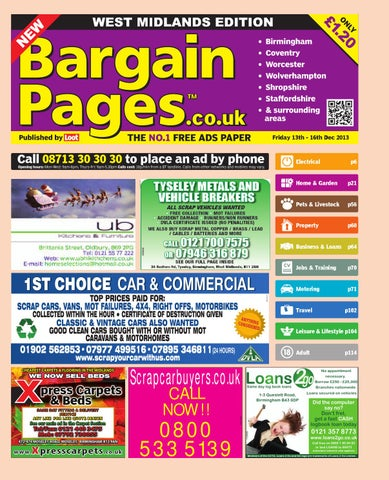 ecdc84f80c9e3d Bargain Pages Midlands, 13th December 2013 by Loot - issuu