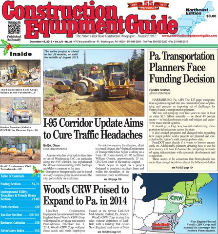 Northeast 26 2013 by Construction Equipment Guide - issuu on
