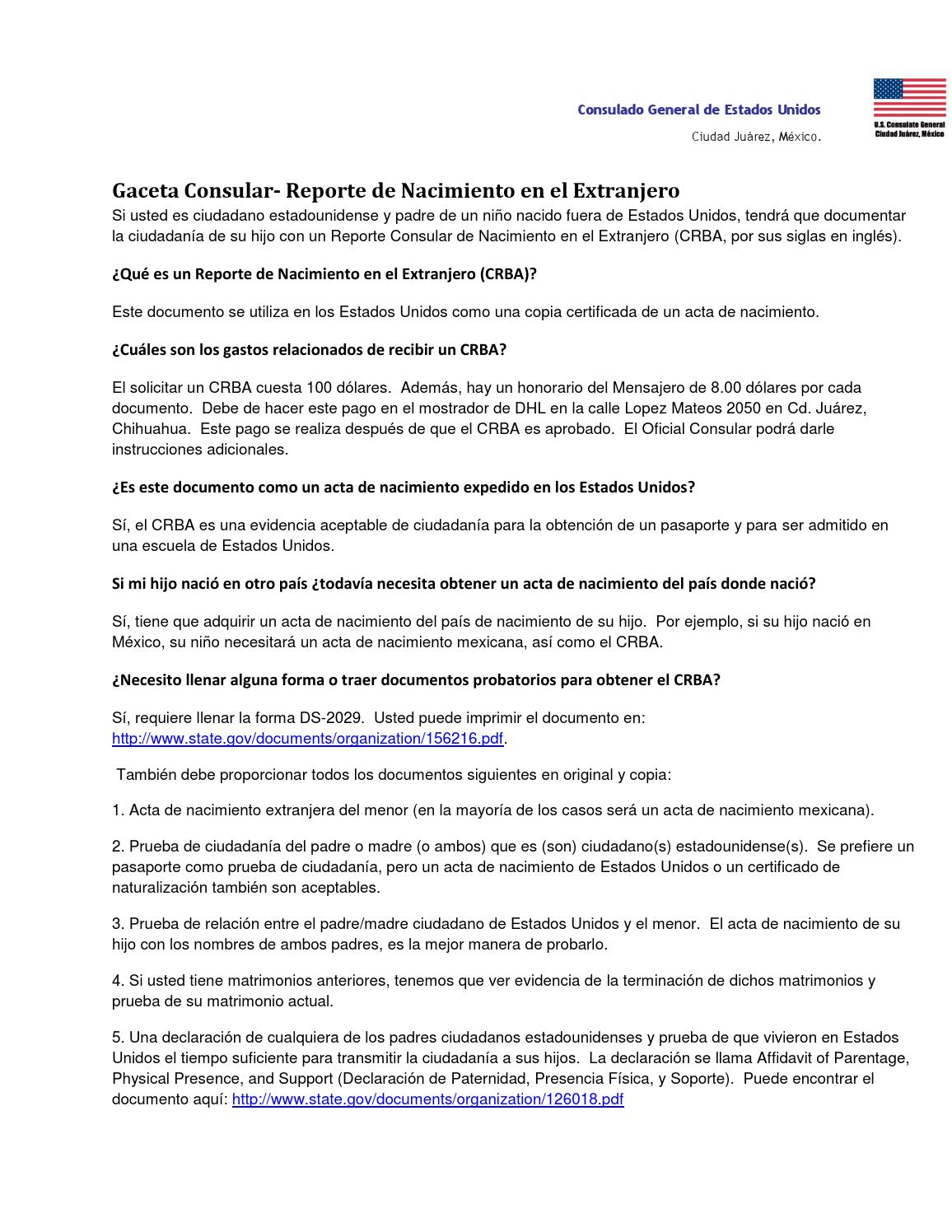 Gaceta consular USA crba by becasyprogramas chihuahua - issuu