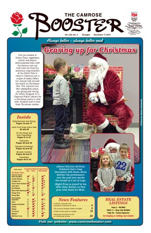 The camrose booster december 17 2013 by the camrose booster issuu page 1 publicscrutiny Image collections