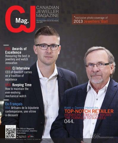 ad914289833ec Canadian Jeweller Magazine December   January 2014 by Rive Gauche ...