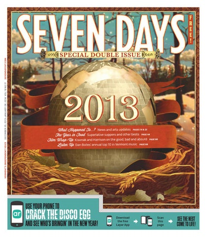 Seven Day, December 25, 2013 by Seven Days - issuu
