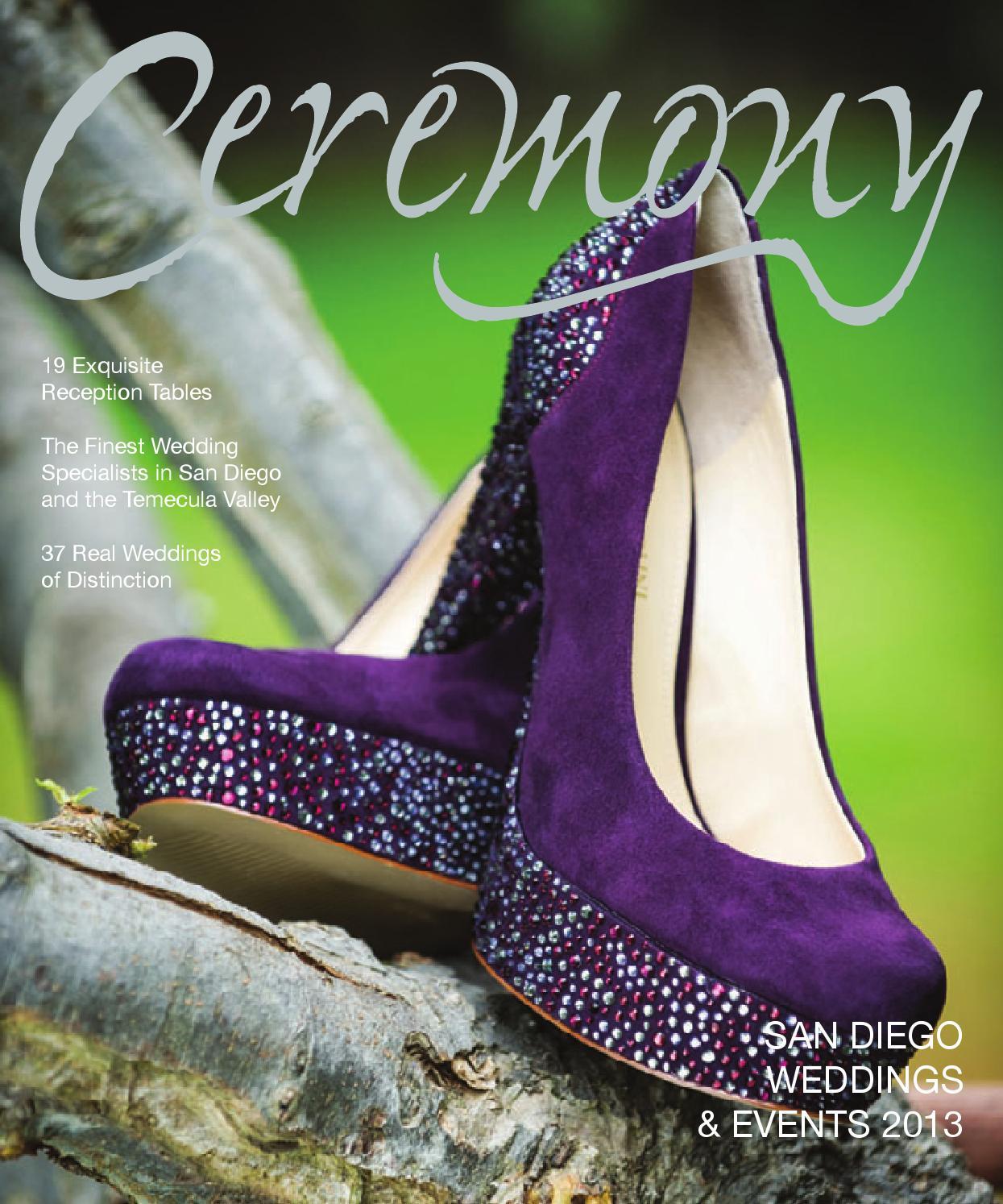 7fe985019f24 Ceremony Magazine 2013 San Diego by Ceremony Magazine - issuu