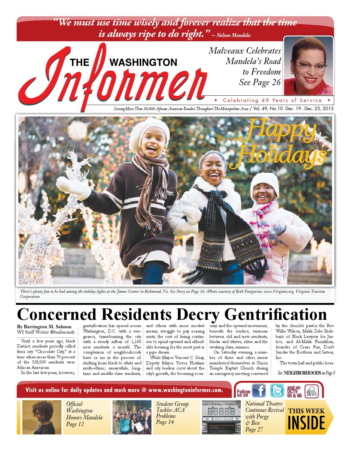 The Washington Informer - December 19, 2013 by The