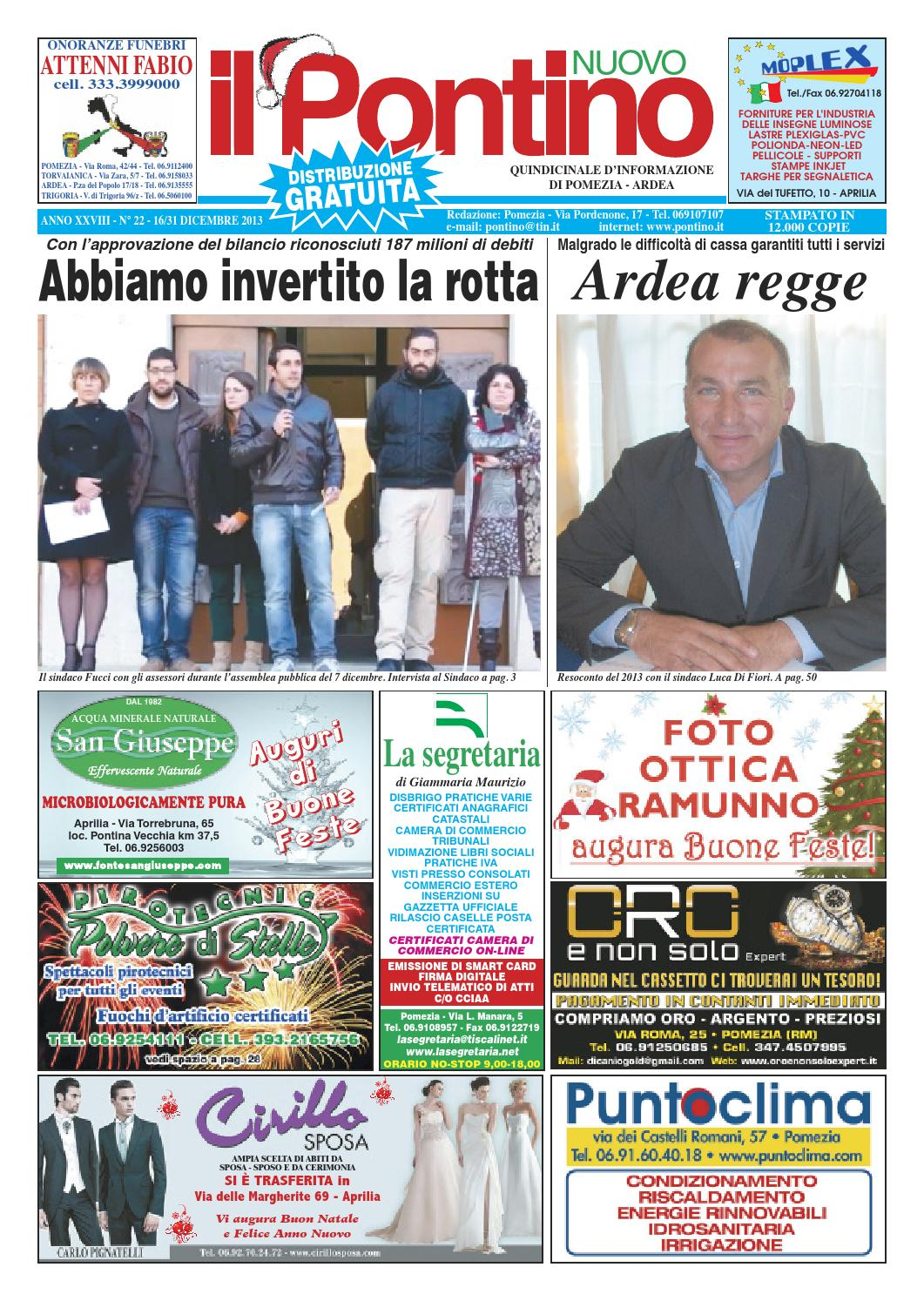 Il Pontino Nuovo n. 22 - 2013 by Il Pontino Nuovo 8fd1f9b33c9