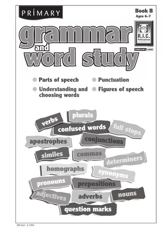 Primary grammar and word study book b ages 6 7 by teacher page 1 ccuart Choice Image