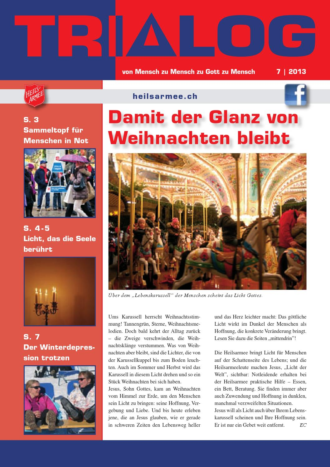 Trialog 7/2013 - Damit der Glanz von Weihnachten bleibt by ...