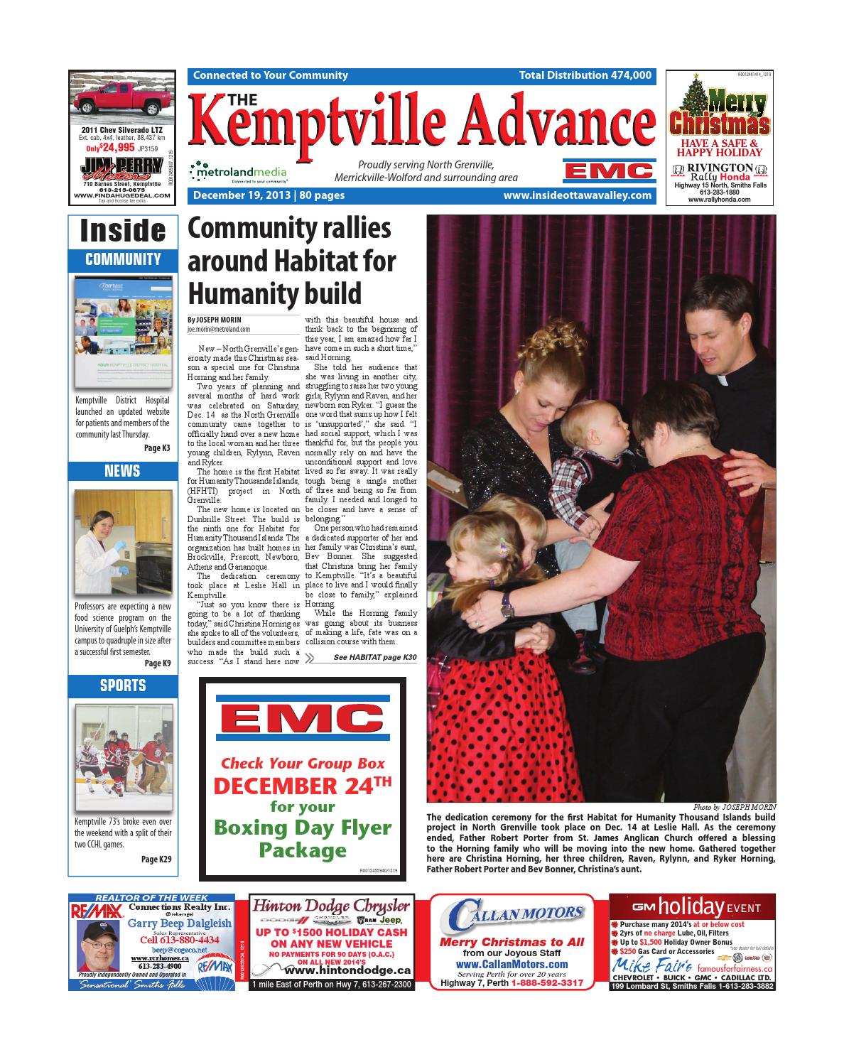 Kemptville121913 by metroland east kemptville advance issuu fandeluxe Image collections