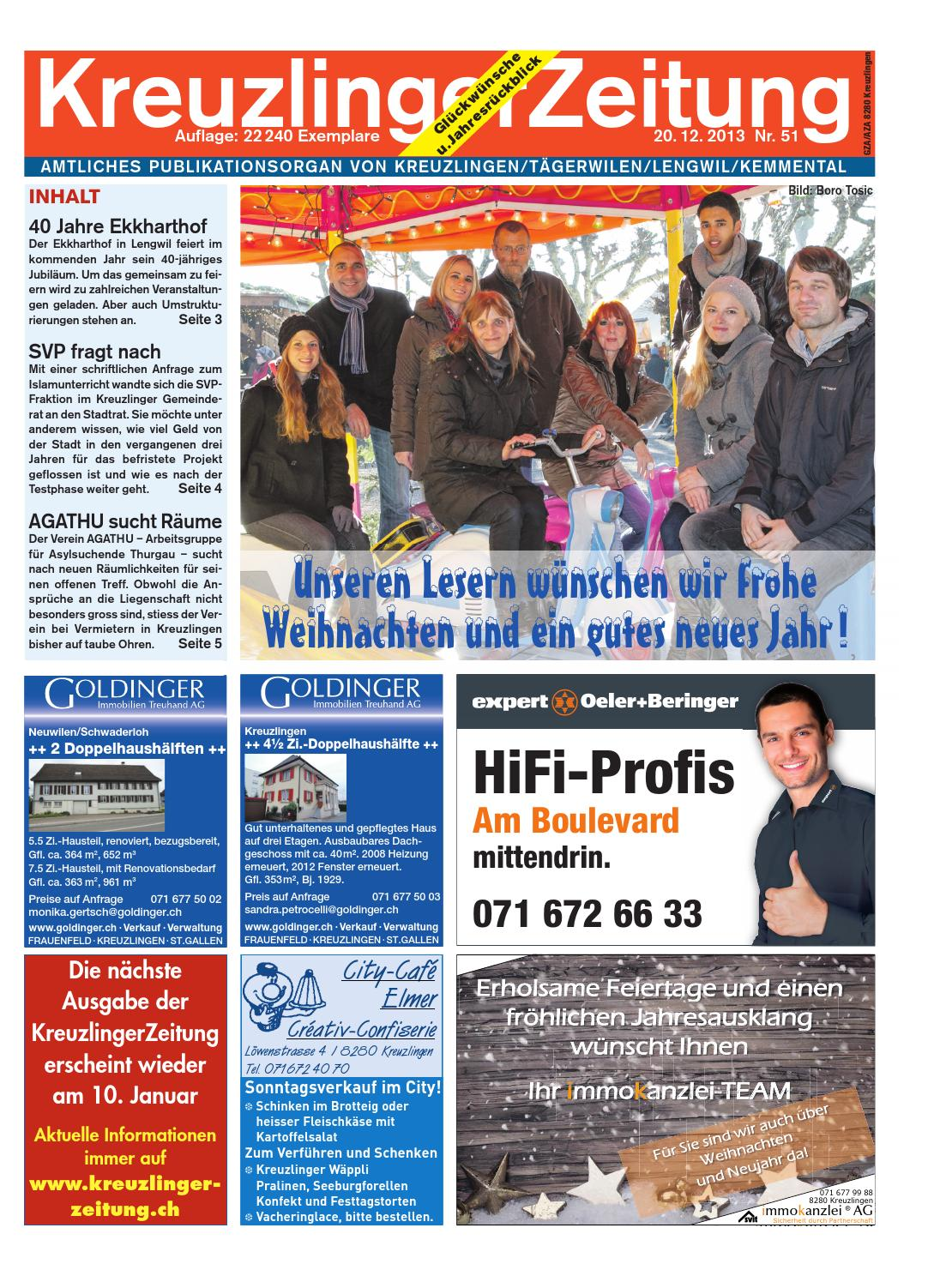 Rckblick 2013 - Naturschutzverein Ebnat-Kappel und Nesslau