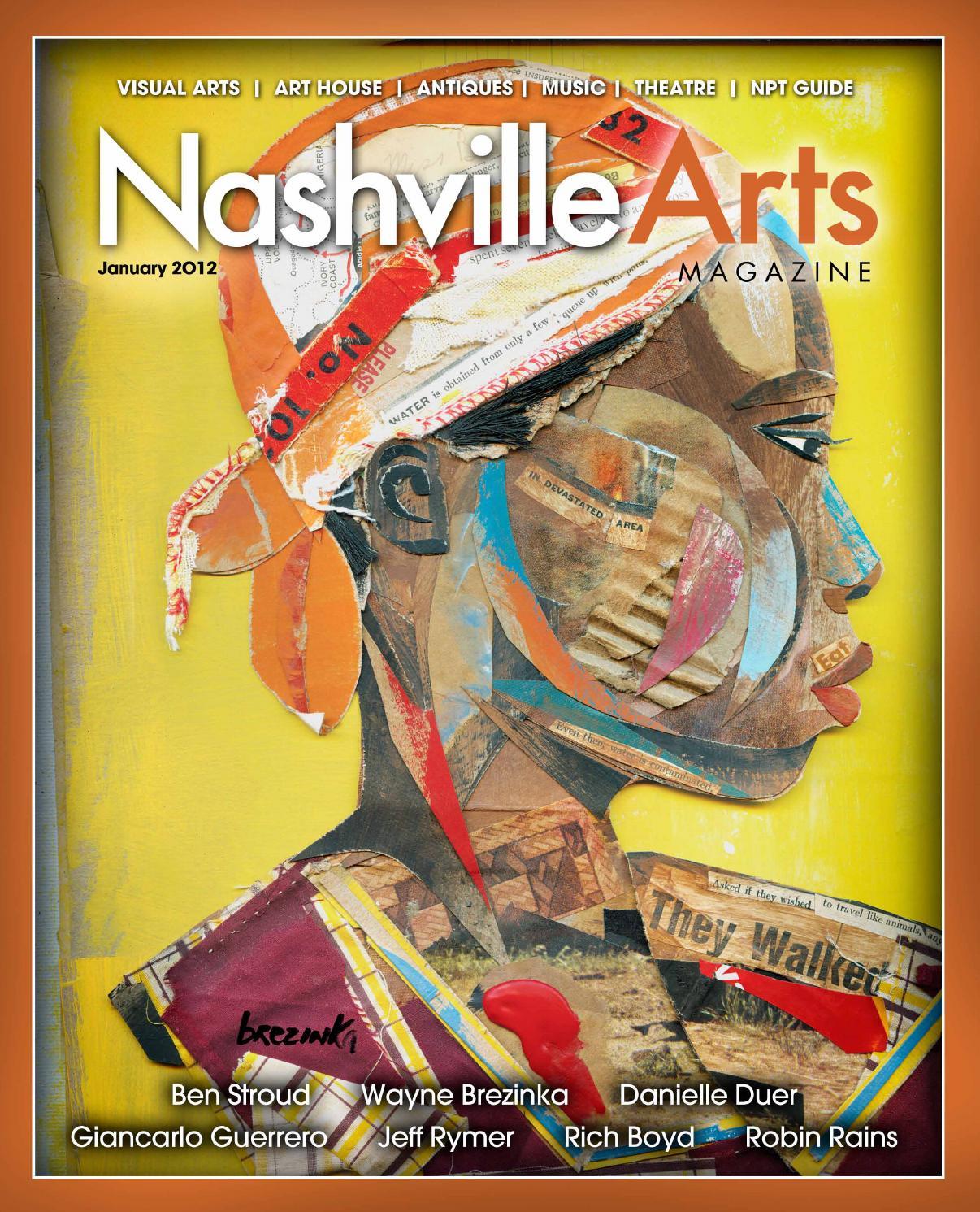 2012 January Nashville Arts Magazine By