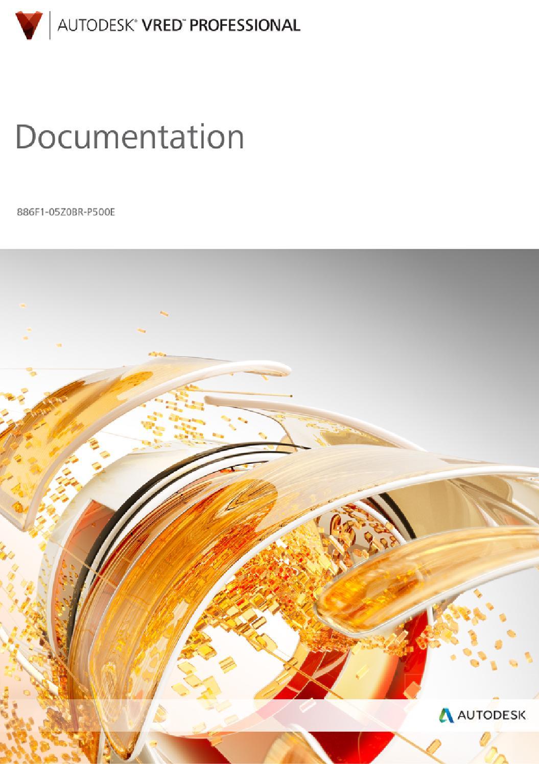 VRED professional 2014: Documentation by MCD Media
