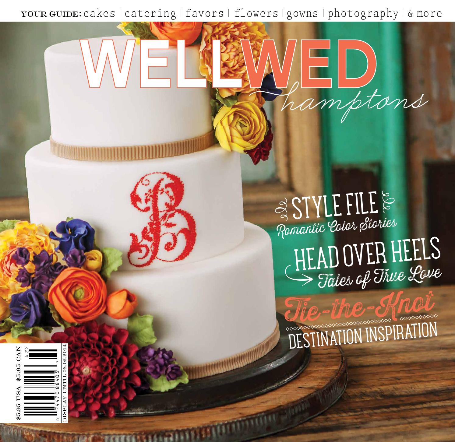 wellwed hamptons issue no 9 by vermont vows and wellwed