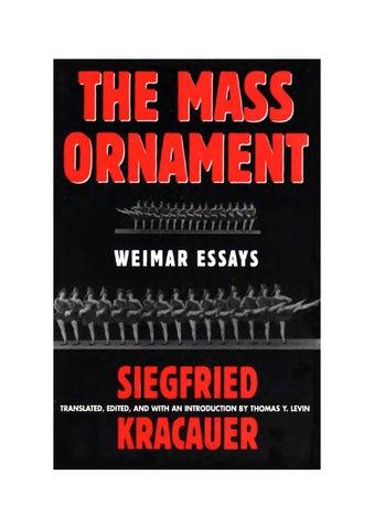 The mass ornament\